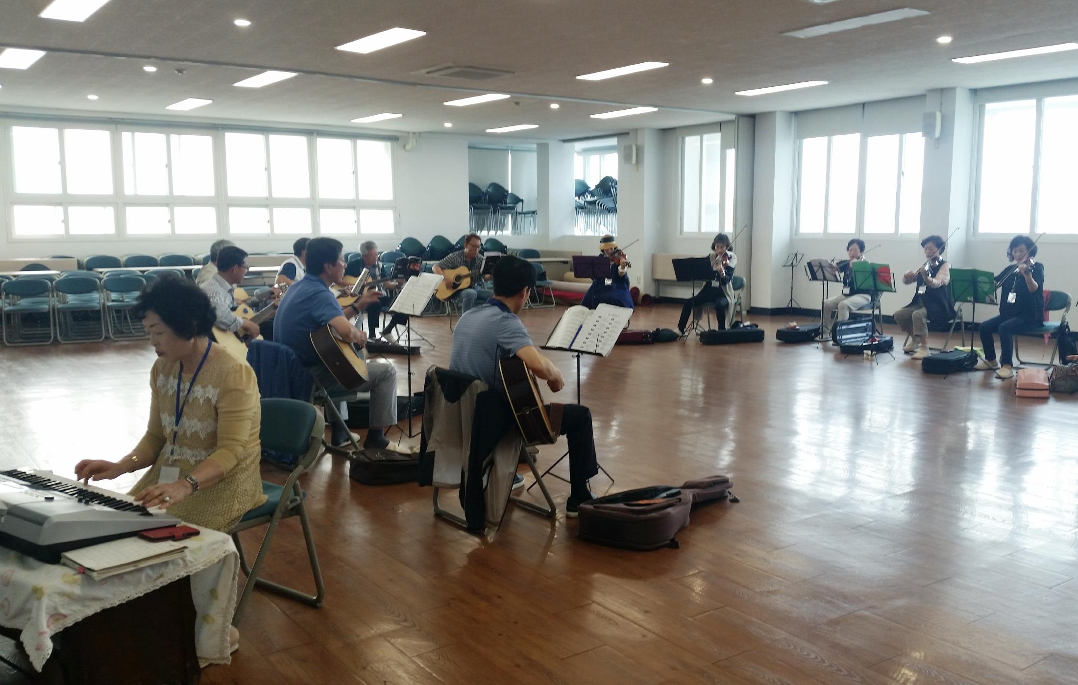 영주시평생학습센터 교육 프로그램(악기연주)